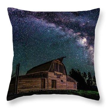 Moulton Barn Milky Way Throw Pillow