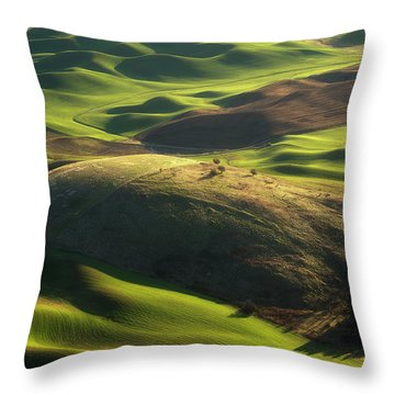 Mounds Of Joy Throw Pillow
