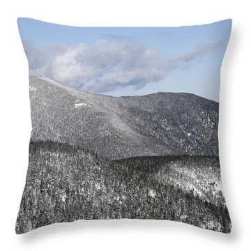 Mount Carrigain - White Mountains New Hampshire Usa Throw Pillow by Erin Paul Donovan