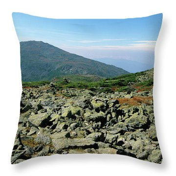 Mount Jefferson - White Mountains New Hampshire  Throw Pillow