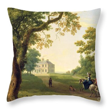 Mount Kennedy - County Wicklow Throw Pillow