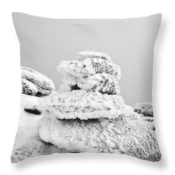 Mount Liberty - White Mountains New Hampshire Throw Pillow by Erin Paul Donovan