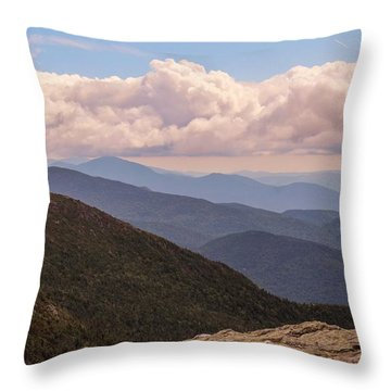 Mount Mansfield Vermont Throw Pillow