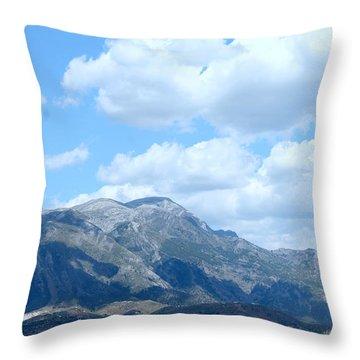 Mount Maroma Throw Pillow
