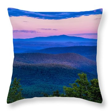 Mount Monadnock From Vermont Throw Pillow