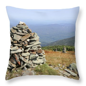 Mount Moosilauke - White Mountains New Hampshire Throw Pillow