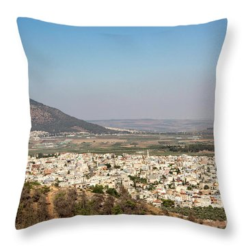 Throw Pillow featuring the photograph Mount Of Ascension by Mae Wertz