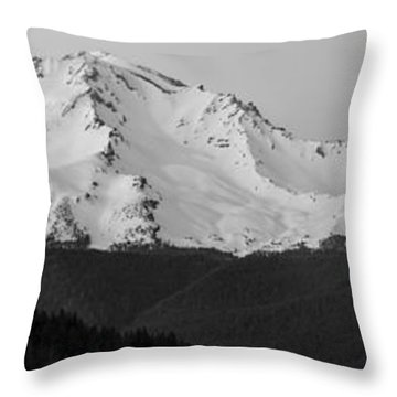 Mount Shasta  Throw Pillow