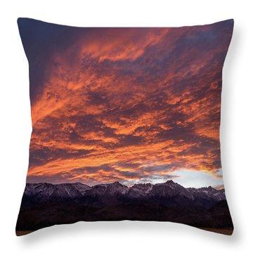 Mount Whitney Throw Pillow
