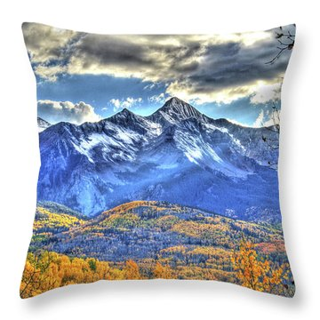 Mount Wilson Throw Pillow