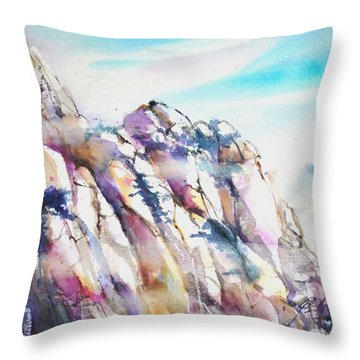Mountain Awe #1 Throw Pillow