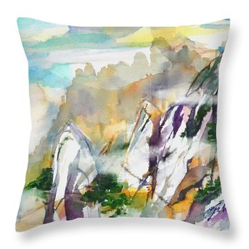 Mountain Awe #2 Throw Pillow