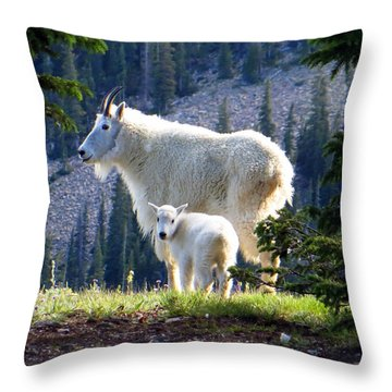 Someone To Watch Over Me Throw Pillow
