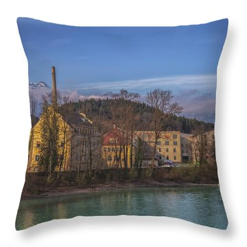Mountain Industry Throw Pillow