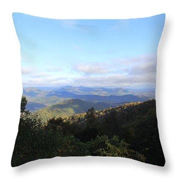 Mountain Landscape 1 Throw Pillow