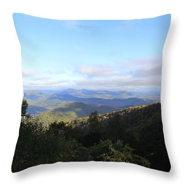 Mountain Landscape 1 Throw Pillow