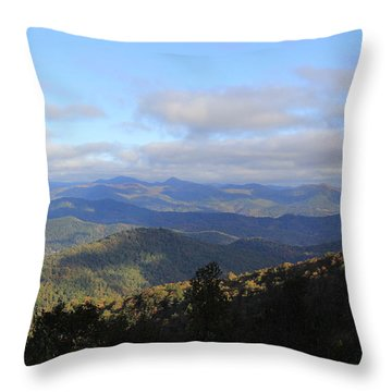 Mountain Landscape 2 Throw Pillow