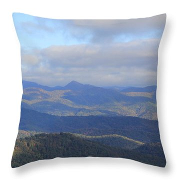 Mountain Landscape 3 Throw Pillow