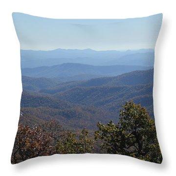 Mountain Landscape 4 Throw Pillow
