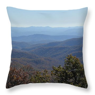 Mountain Landscape 4 Throw Pillow