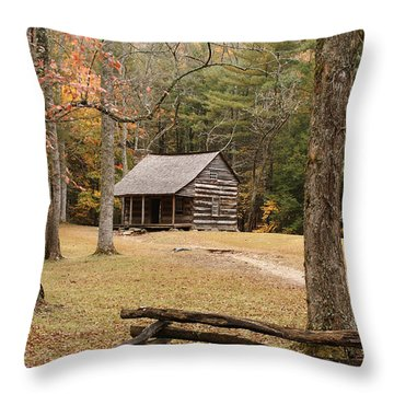 Mountain Memories Throw Pillow