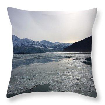 Mountain Reflections II Throw Pillow