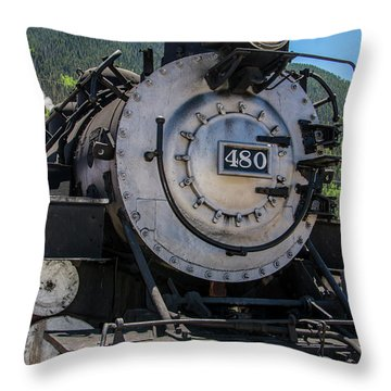 Throw Pillow featuring the photograph Mountain Ride by Colleen Coccia