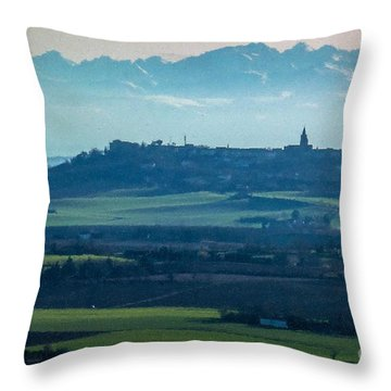 Mountain Scenery 4 Throw Pillow