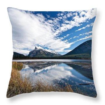 Mountain Splendor Throw Pillow