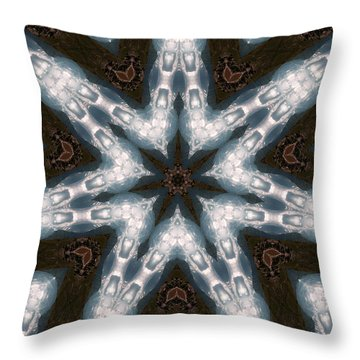 Mountain Star Throw Pillow