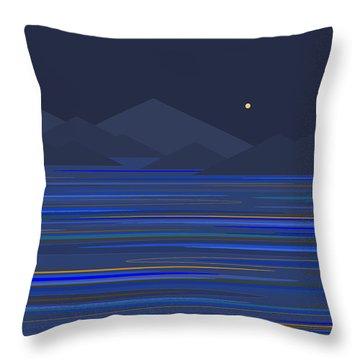 Mountain Tops Throw Pillow