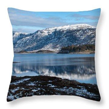 Mountain Tranquillity  Throw Pillow