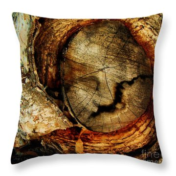 Throw Pillow featuring the photograph Mountain by Vanessa Palomino