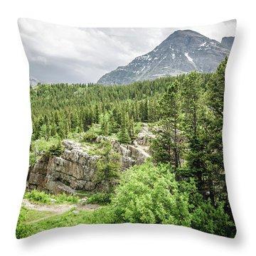 Mountain Vistas Throw Pillow