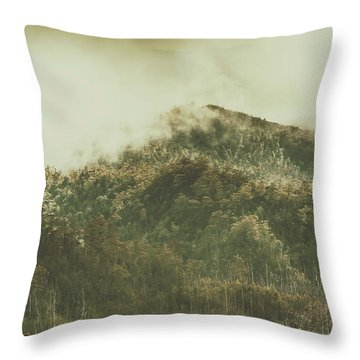 Mountain Wilderness Throw Pillow