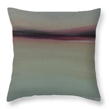 Mountains At Dawn Throw Pillow
