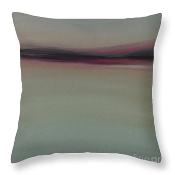 Mountains At Dawn Throw Pillow