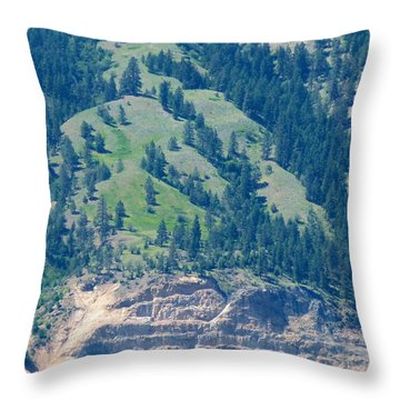 Mountainside Throw Pillow