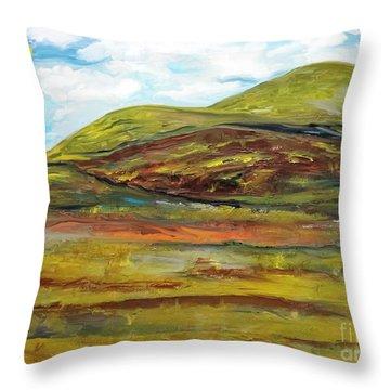 Mountaiscape 2  Throw Pillow