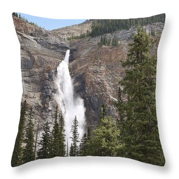 Throw Pillow featuring the photograph Mountian Water by Al Fritz