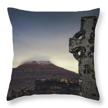 Mourning Star Throw Pillow