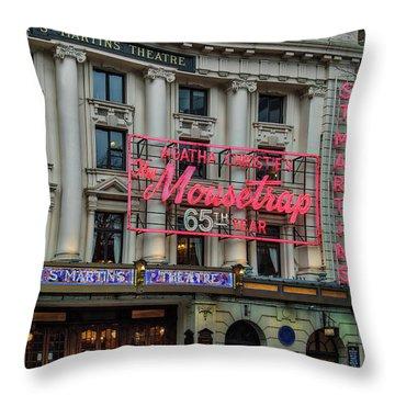 Mousetrap 65 Throw Pillow