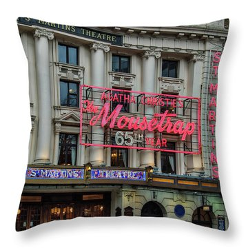 Mousetrap 65 Throw Pillow