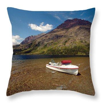 Moutain Lake Throw Pillow
