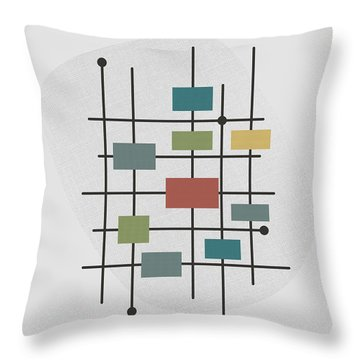 Movement - 1 Throw Pillow by Finlay McNevin