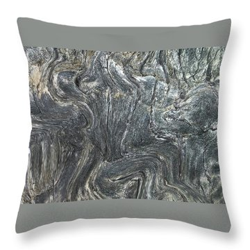 Movement In The Earth Throw Pillow