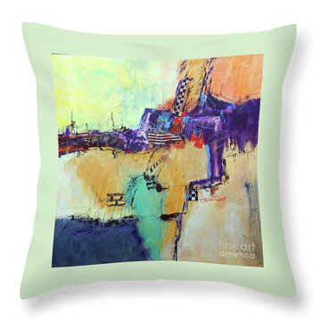 Movin' Left Throw Pillow