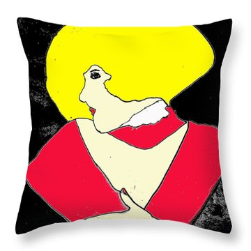 Movie Star Throw Pillow