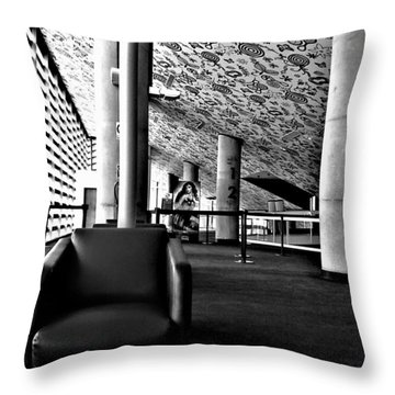 Movie Theater   Throw Pillow