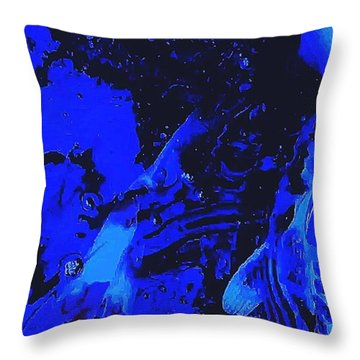 Movements In Silence  Throw Pillow